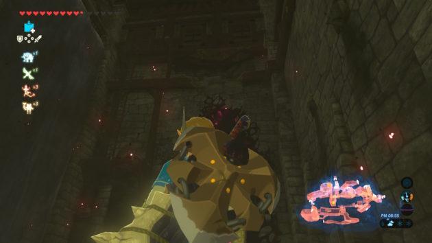 ハイラル城の天井の高い部屋③