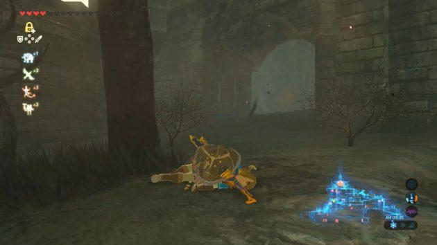 ハイラル城、ゼルダ姫の部屋の前の新たなる敵③