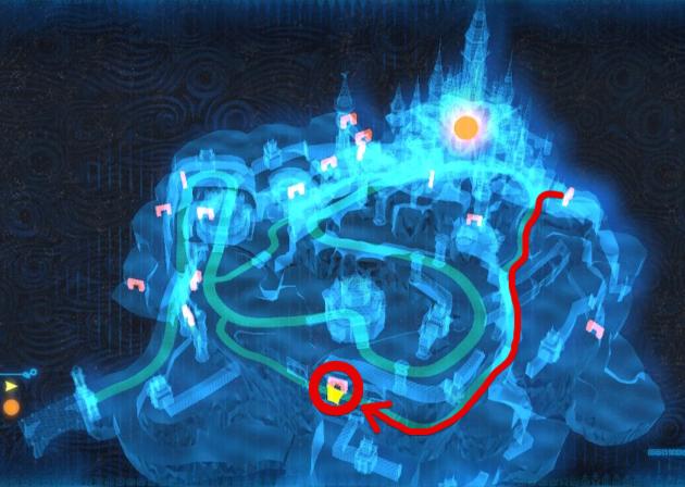 ハイラル城の食堂(マップ)