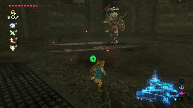 ハイラル城、二の丸のライネルを攻略①