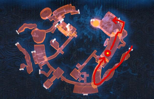 ハイラル城の室内エリアを制覇(マップ)