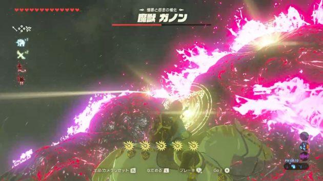 魔獣ガノンとの最後の戦い_39