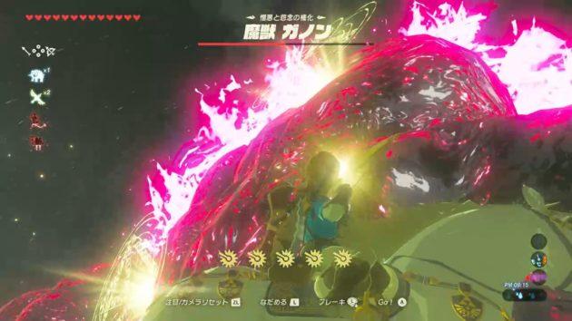 魔獣ガノンとの最後の戦い_40