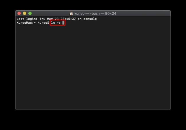 外付けHDDへのショートカットを作成する方法_03