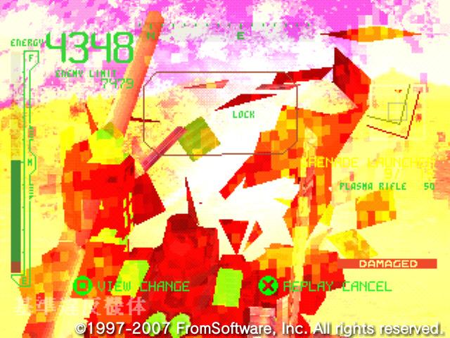 アーマードコア PROJECT PHANTASMA アリーナ攻略スクリーンショット_45