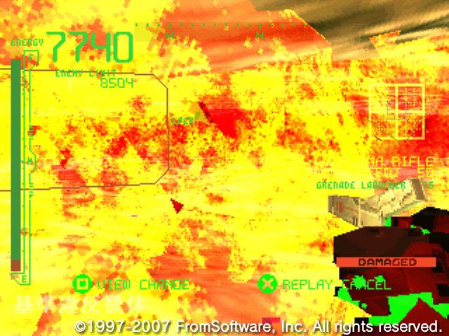 アーマードコア PROJECT PHANTASMA アリーナ攻略スクリーンショット_146