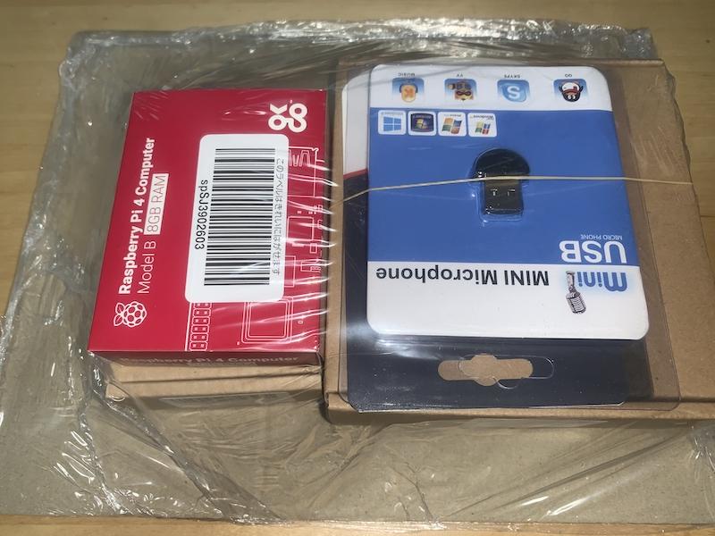 RaspberryPi4 と周辺機器