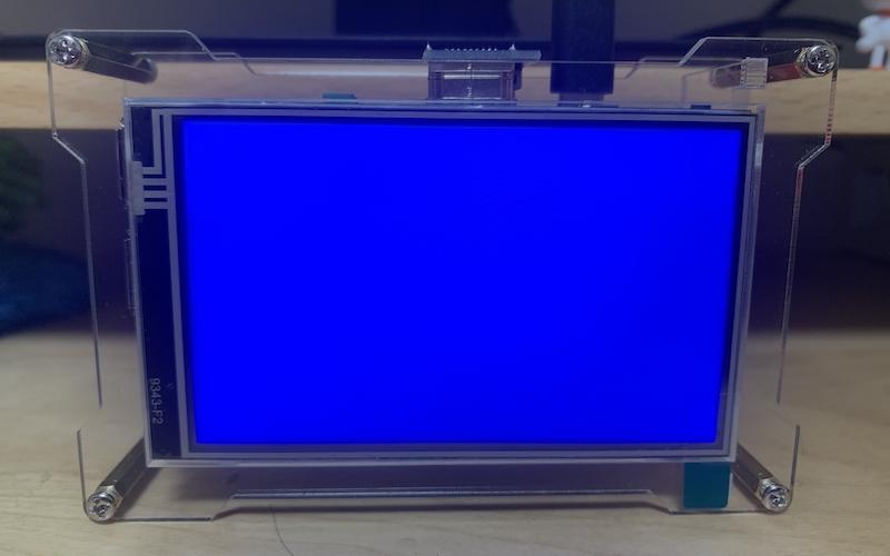 RaspberryPi4 初回起動時のブルースクリーン