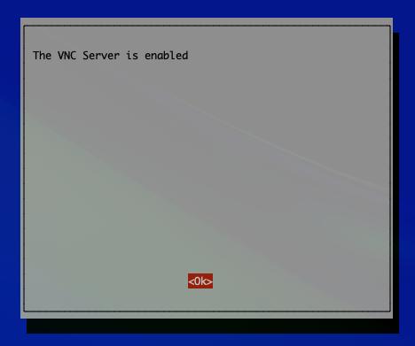 Raspberry Pi の VNC Server を有効化