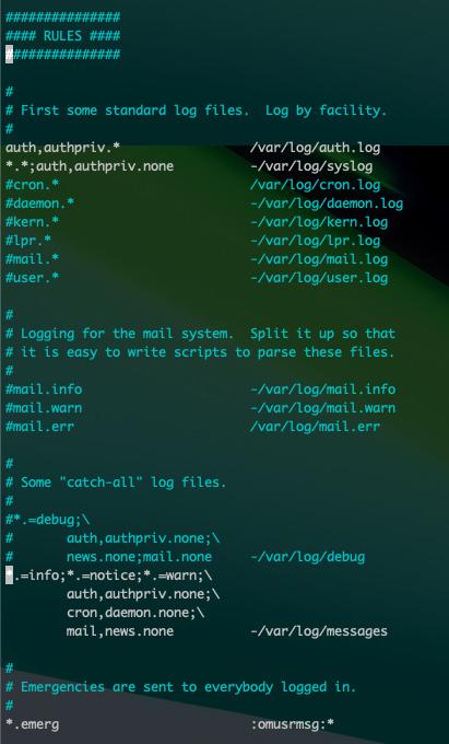 Raspberry Pi 4 の不要なログを無効化