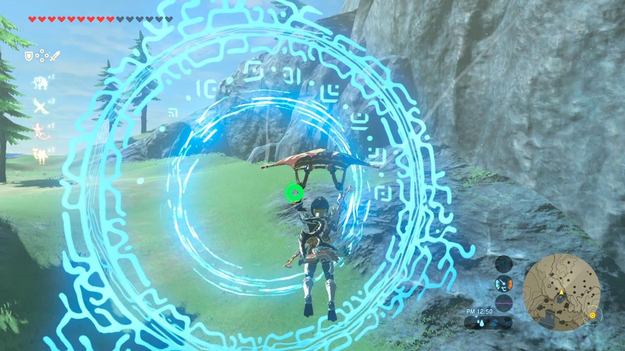 光の輪をくぐって滝の上を目指せ!_05