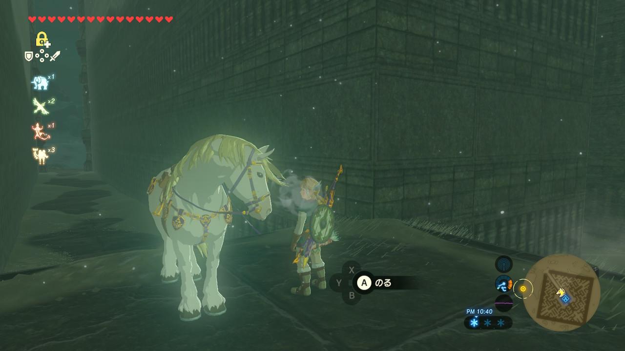 リンクと王家の白馬